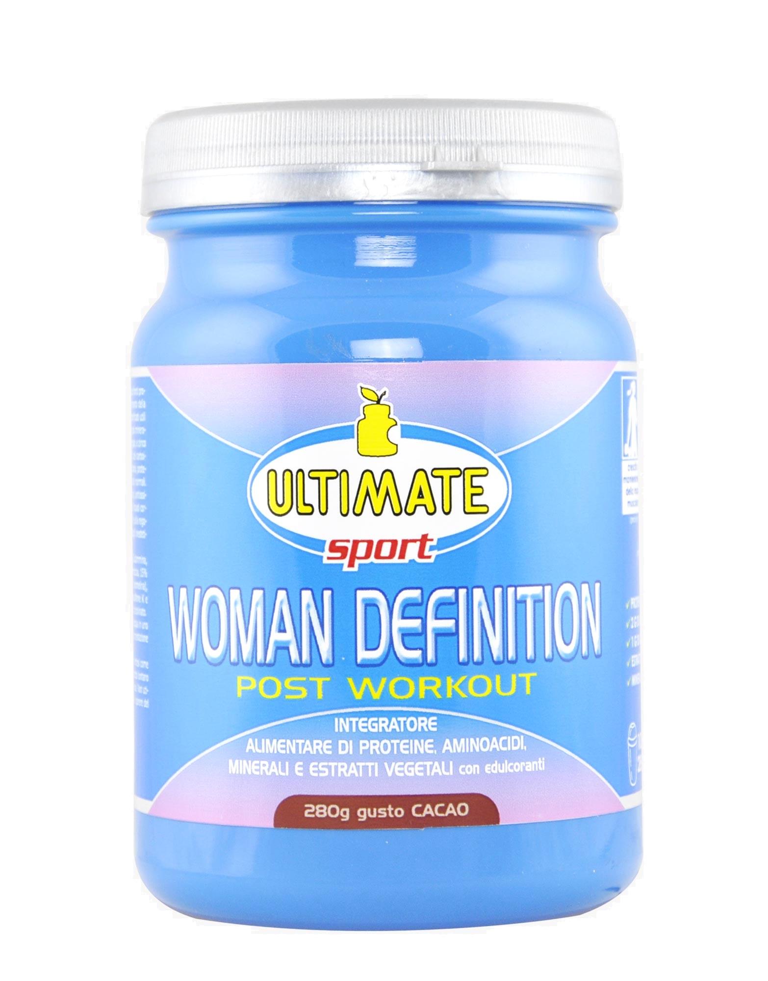 woman definition post workout di ultimate italia (280 grammi)