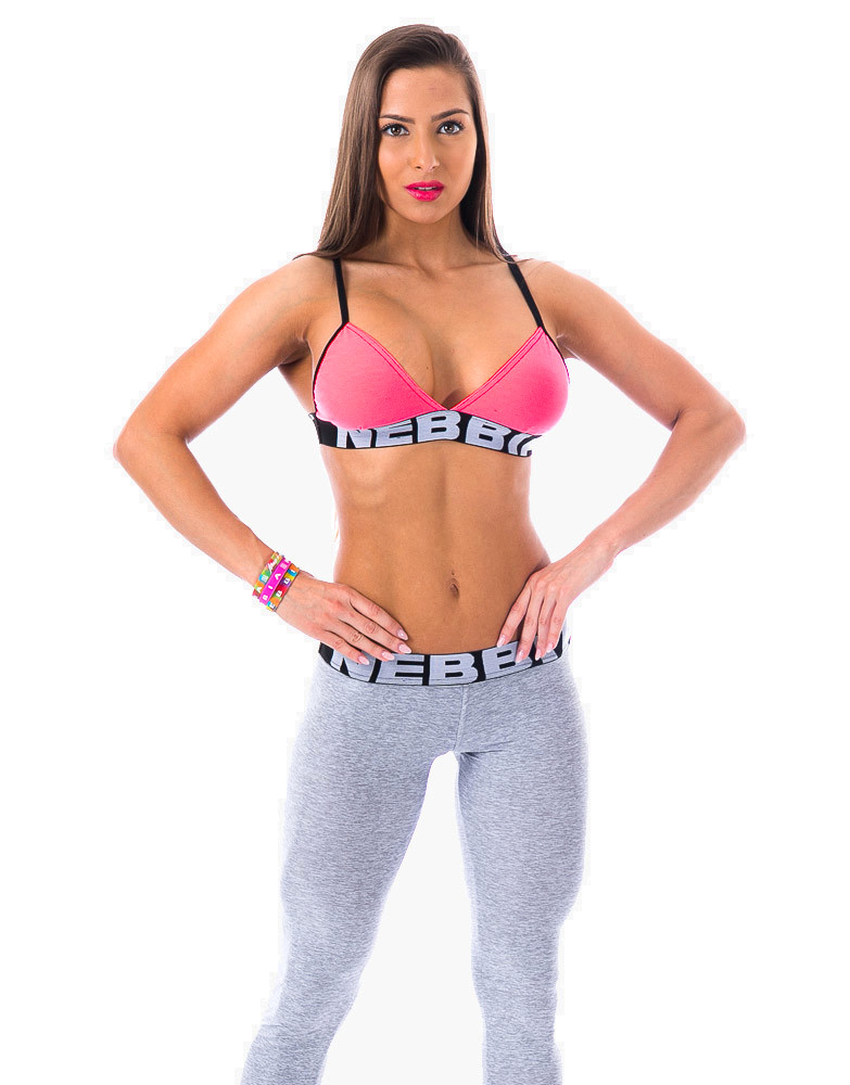 Fitness Bra 208 NEBBIA (couleur  rose) 3fe4a139d13e