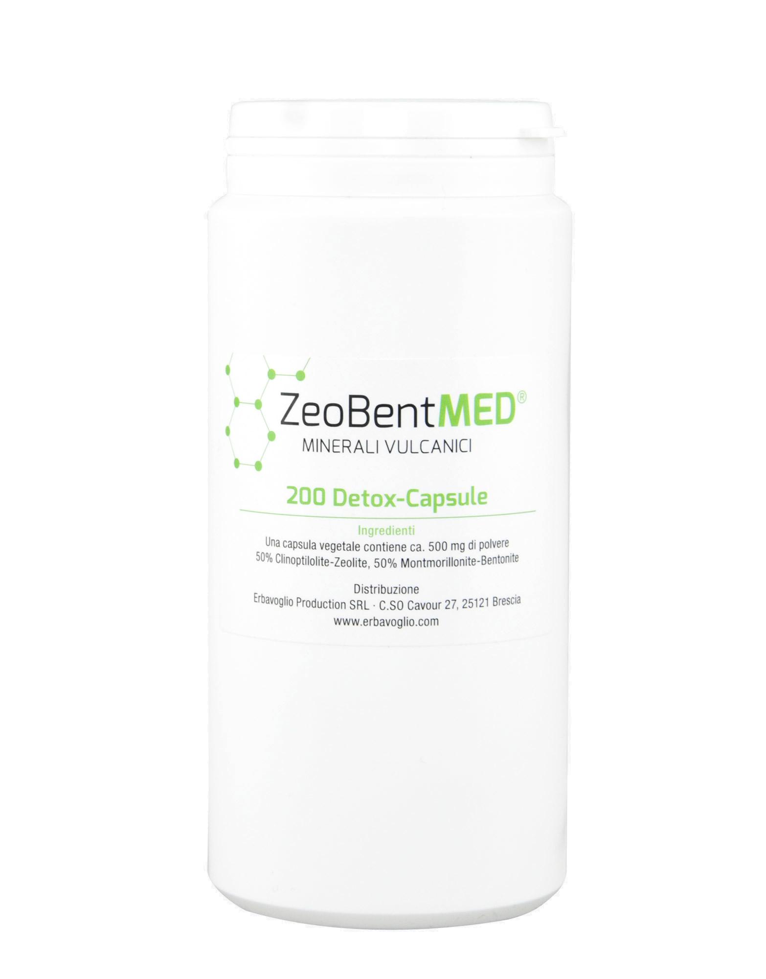 ZeoBent MED by ZEOLITH-BENTONIT-VERSAND (200 capsules)