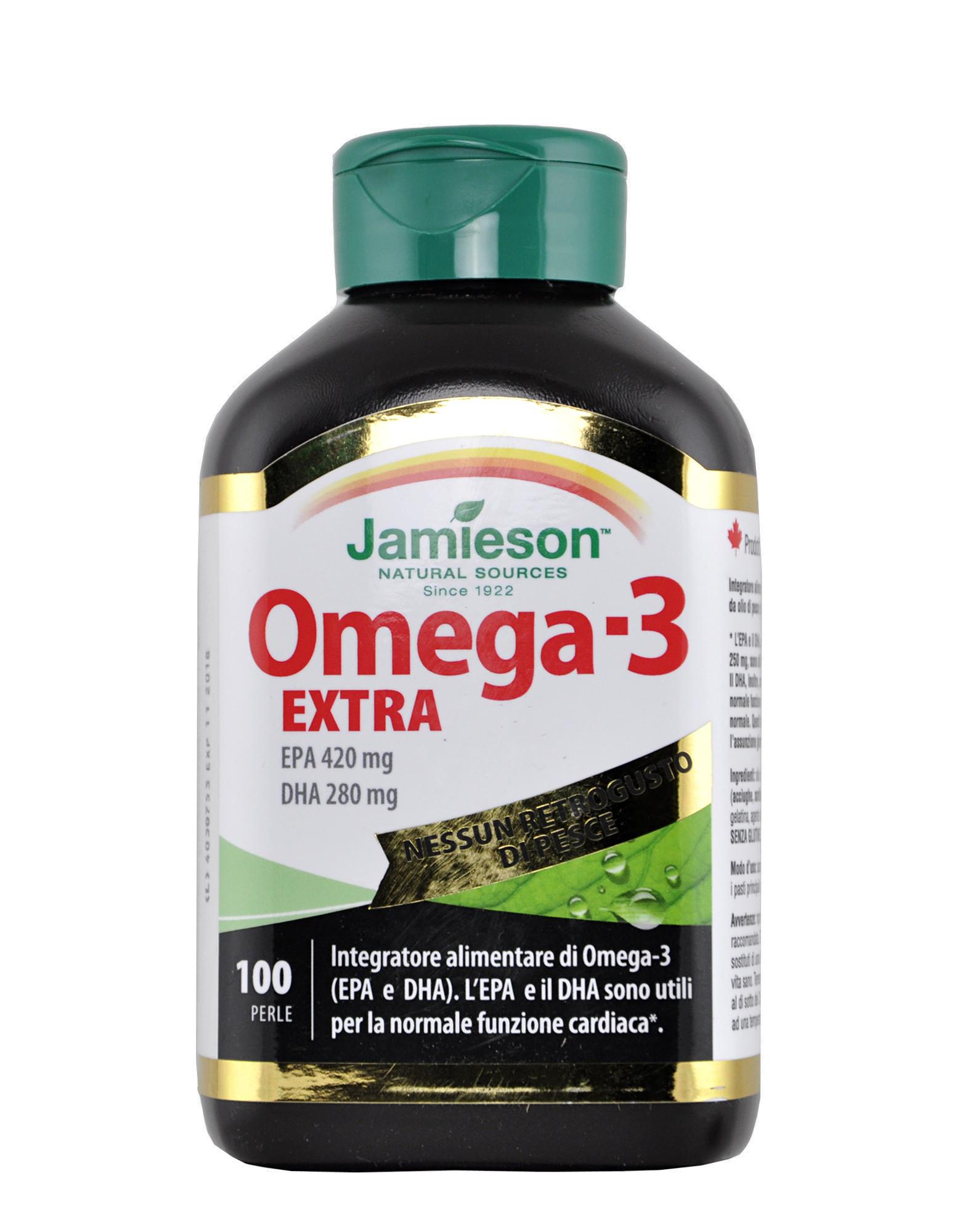 jamieson omega 3  Omega-3 Extra di JAMIESON (100 perle)