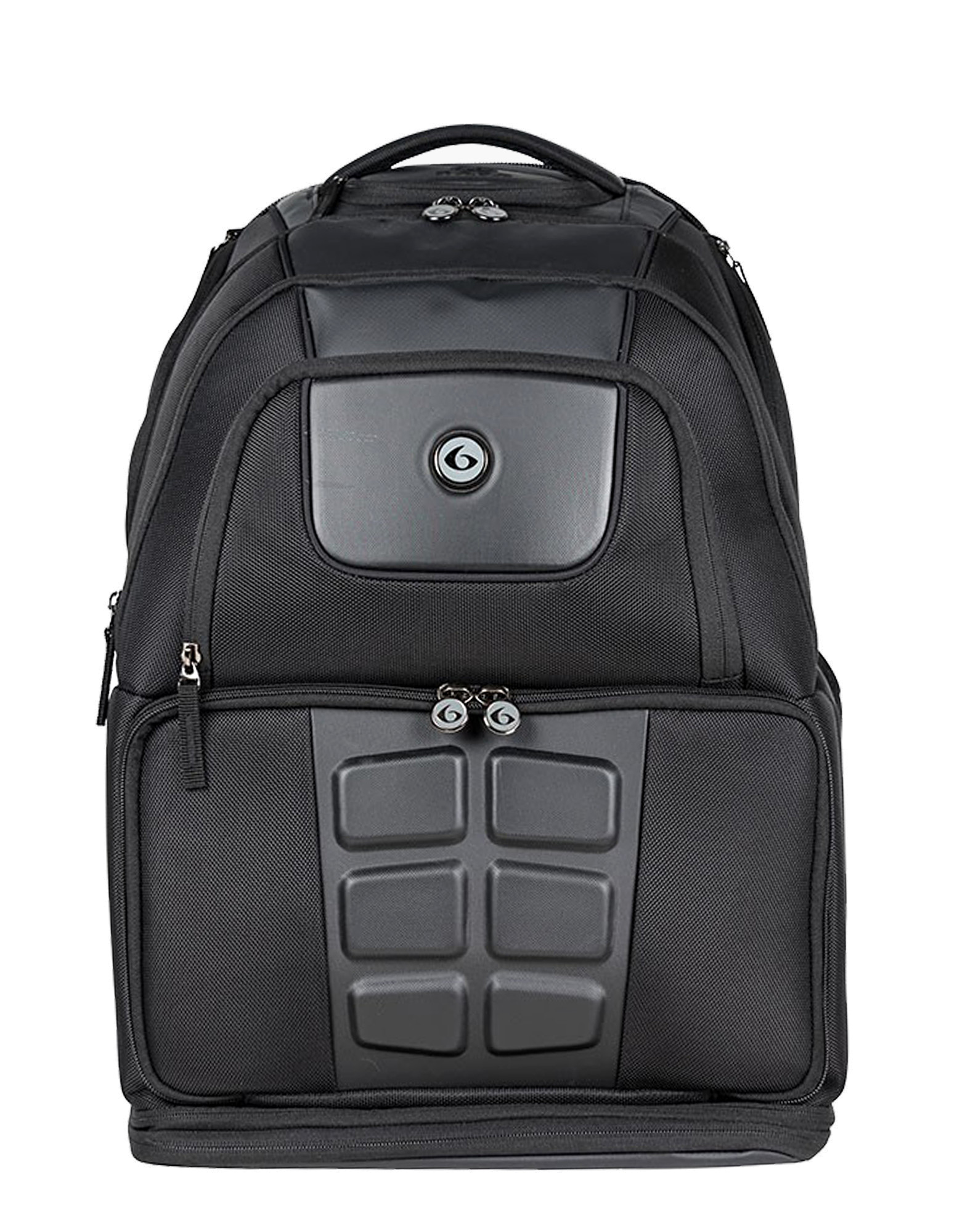 efb39c1ddea2 Voyager Backpack 500 by 6 PACK FITNESS (colour  black)