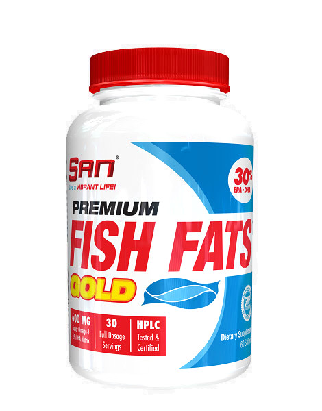 Premium fish fats gold by san nutrition 60 pearls for Fish oil pearls
