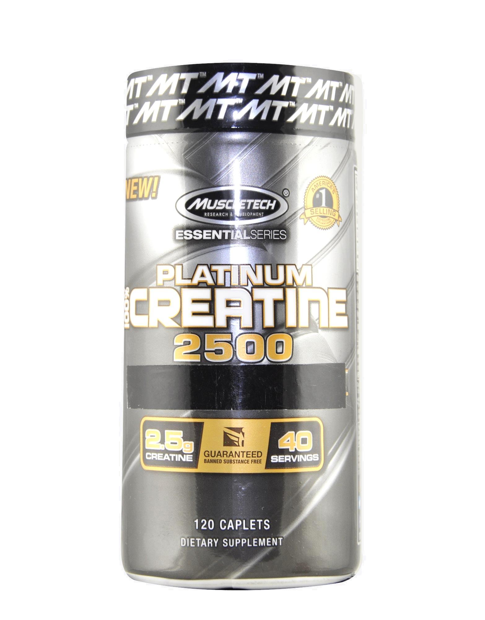 Platinum 100% Creatine 2500 Essential Series di MUSCLETECH (120 capsule) 7d097d4ea1b