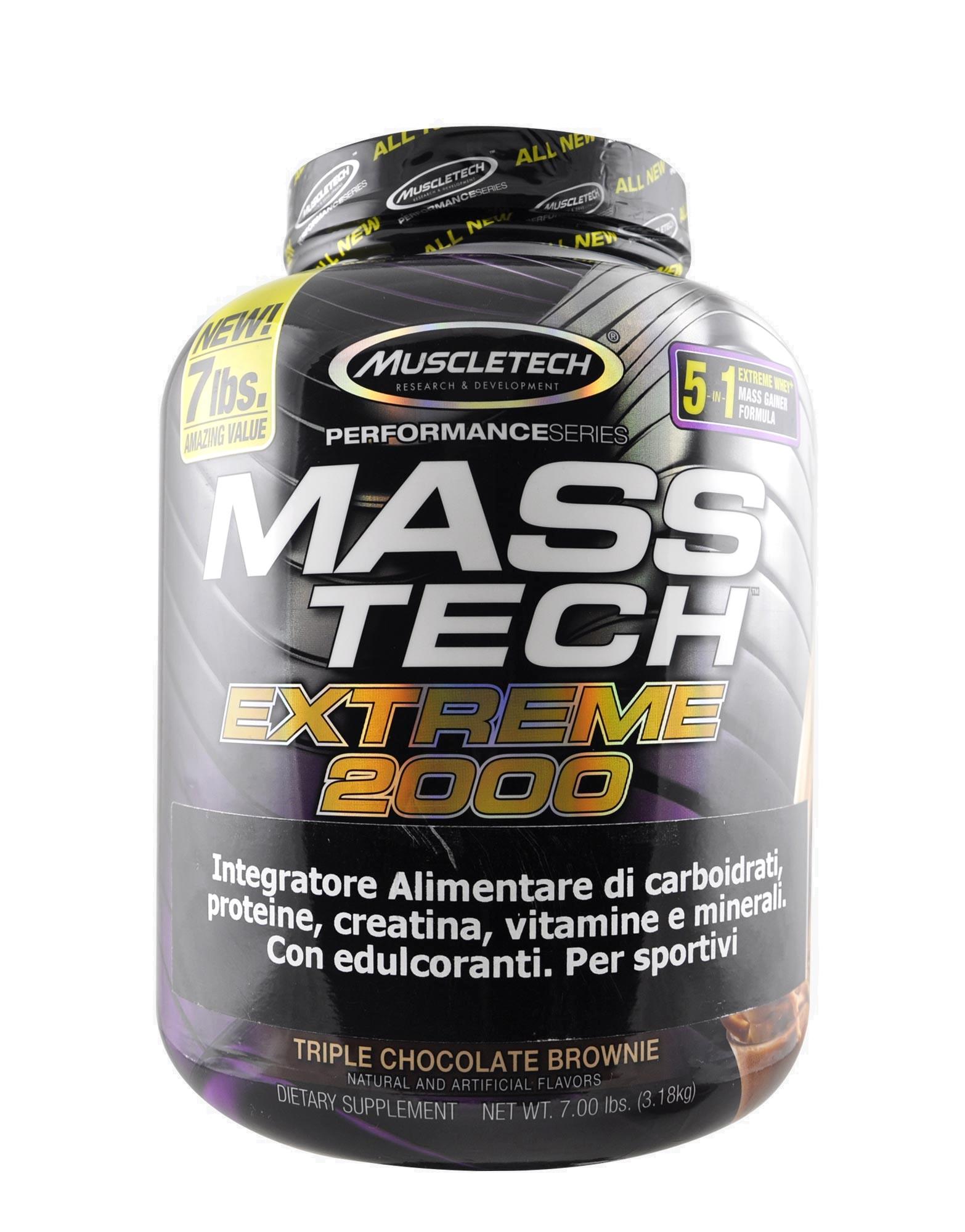 MUSCLETECH Mass-Tech Extreme 2000 Performance Series 3180 grams d8403ad8713