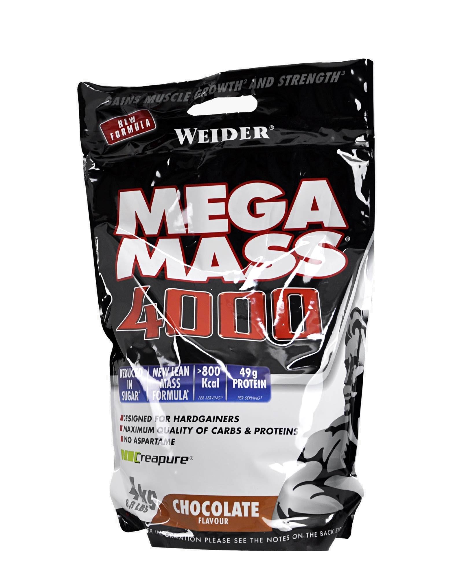Mega Mass 4000 di WEIDER (4000 grammi)