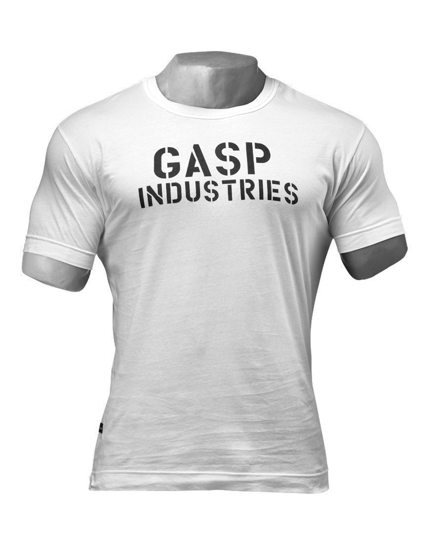 Standard Issue Tee by GASP WEAR (colour  white) 417bee9c52a2f