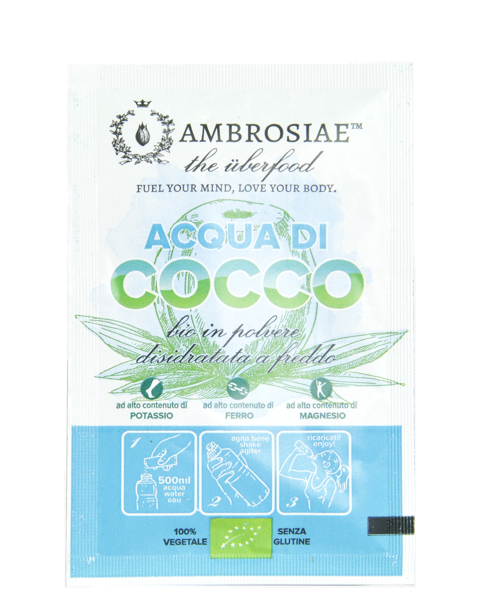 Freeze Dried Coconut Water 1 sachet of 10 grams