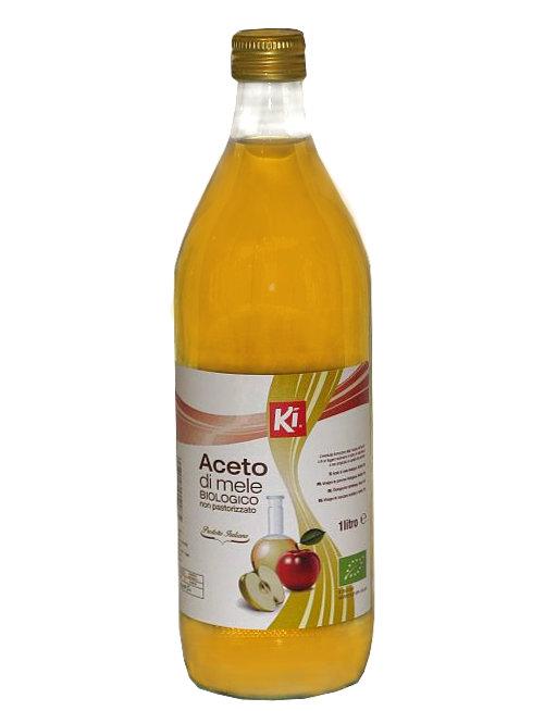 Organic Apple Cider Vinegar by Ki, 1000ml - iafstore com