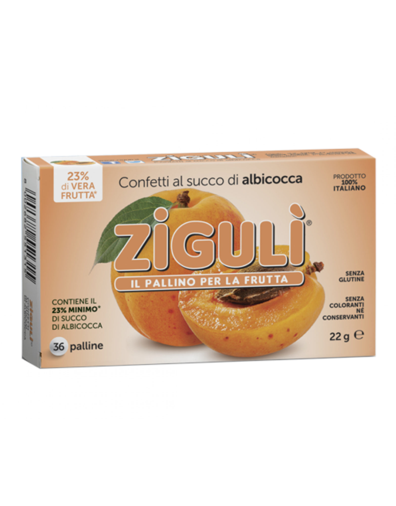 Zigulì Confetti Al Succo Di Albicocca By Zigulì Iafstore Com