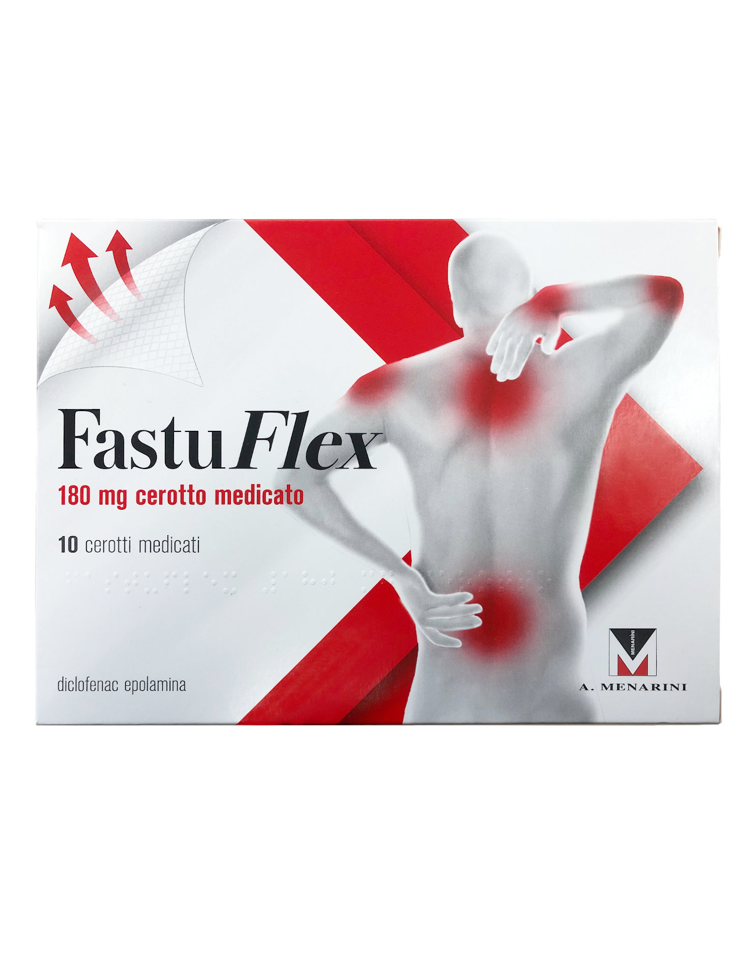 FastuFlex 180 mg di FASTUM (10 cerotti medicati)