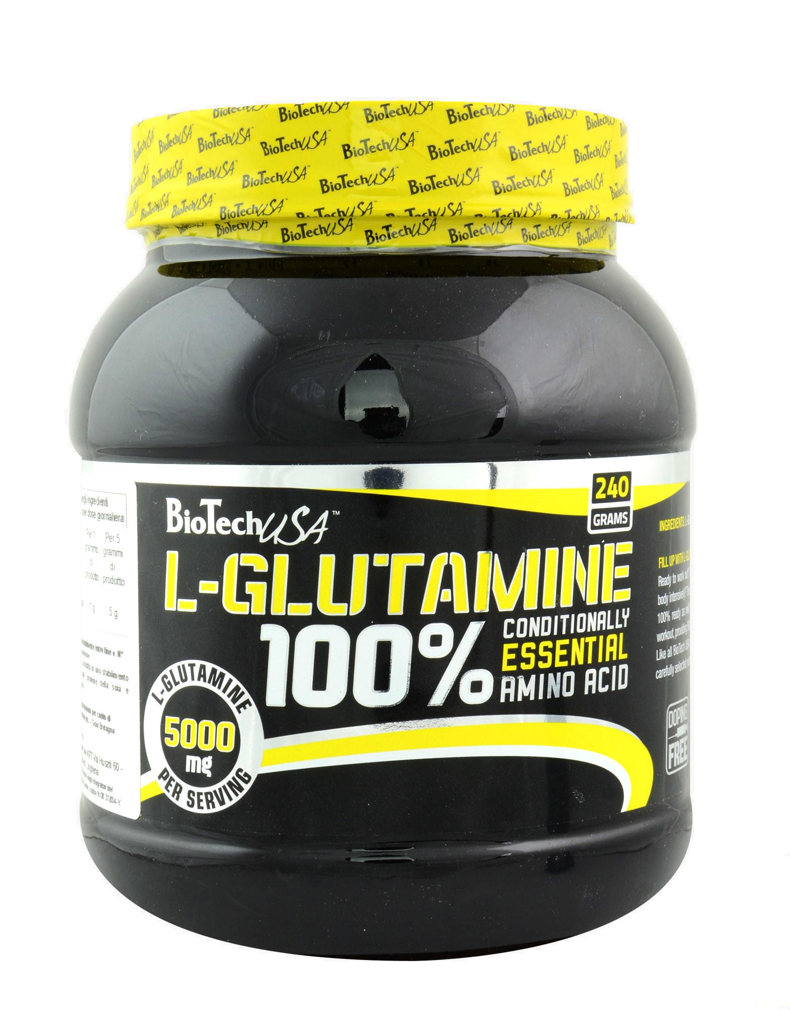 100% L-Glutamine by BIOTECH USA (500 grams) € 25,25