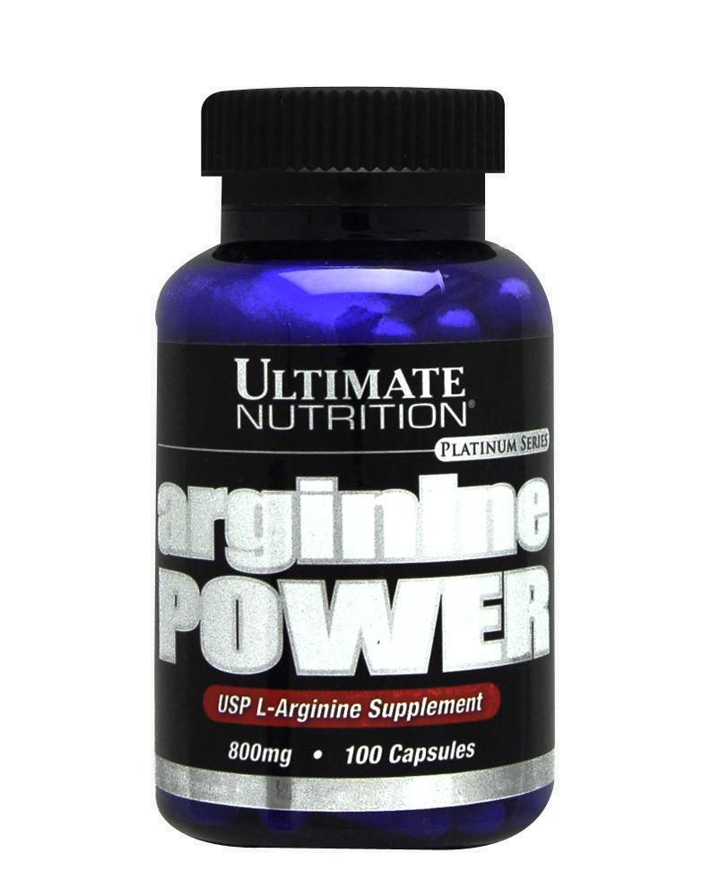 ULTIMATE NUTRITION Arginine Power 100 capsules