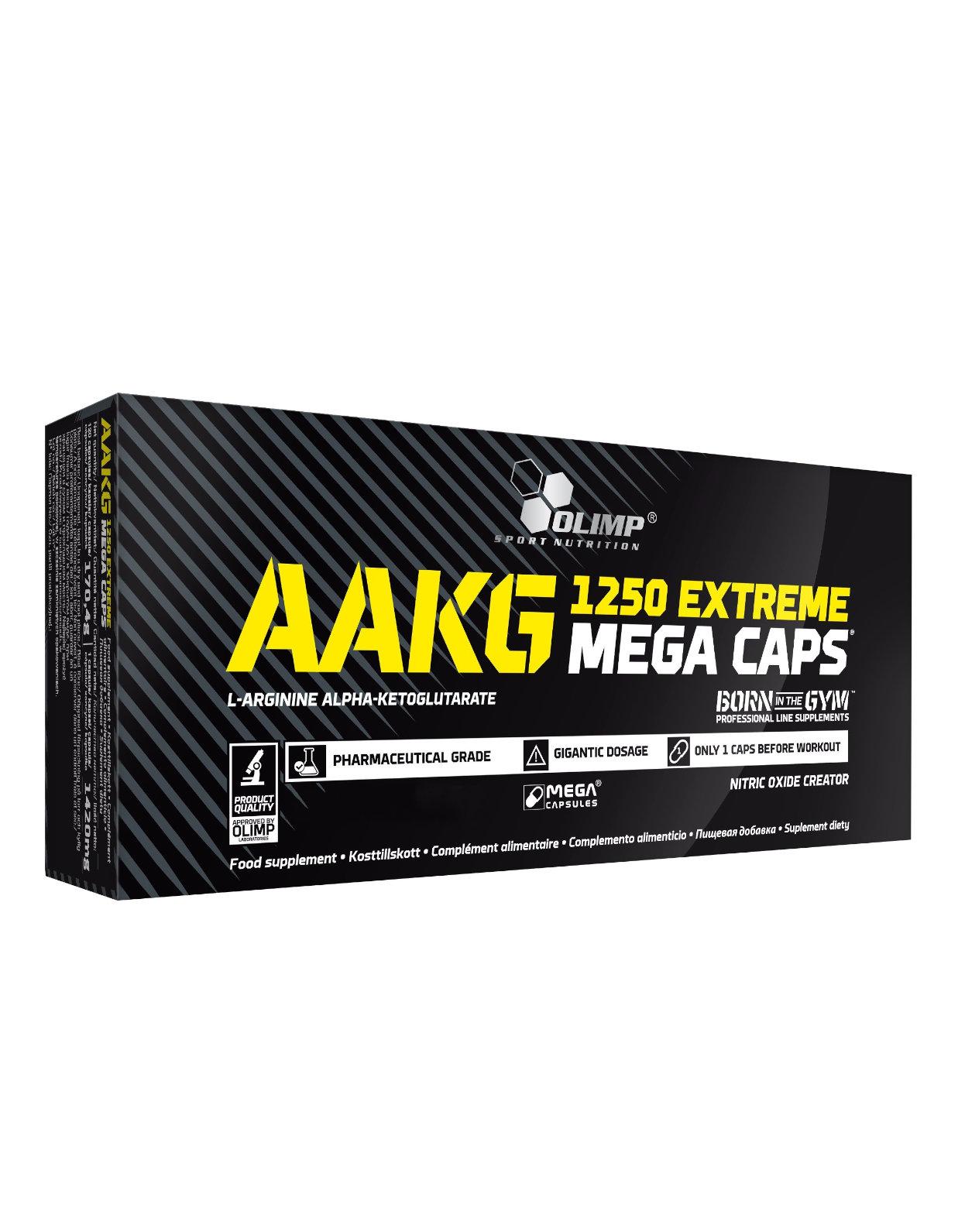 7d3e59d740a AAKG Extreme Mega Caps 1250 by OLIMP (300 capsules)