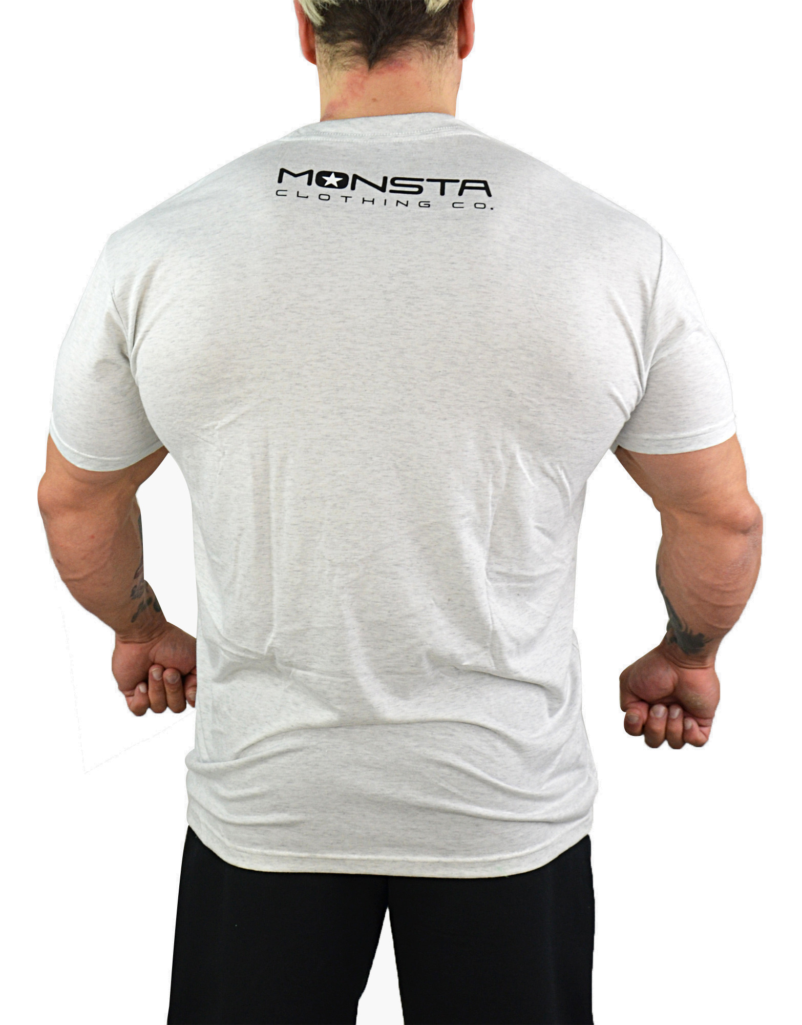 Intense Is How I Train - Tri-Blend by MONSTA CLOTHING CO