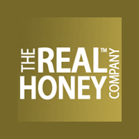 THE REAL HONEY COMPANY logo