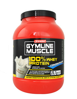 ENERVIT Gymline Muscle 100% Whey Protein Concentrate 700 grams