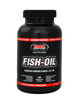 Fish oil by max nutrition 100 softgels 15 43 for Fish oil nutrition