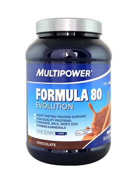 MULTIPOWER Formula 80 Evolution 750 grams