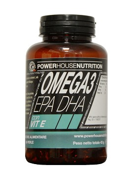 Omega 3 by power house nutrition 90 pearls for Fish oil pearls