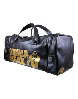 765198bdca401 Gym Bag Gold Edition by GORILLA WEAR (colour  black)