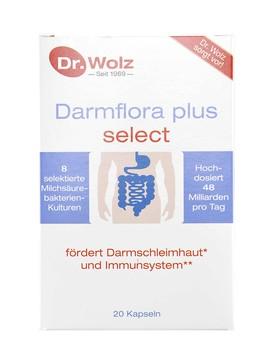 darmflora plus select di dr wolz 20 capsule 15 19. Black Bedroom Furniture Sets. Home Design Ideas