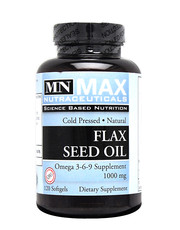 Flax Seed Oil 120 tablets