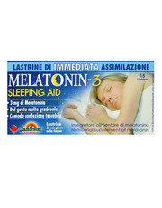 Melatonin-3 Sleeping AID 15 tablets