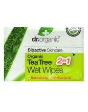 Organic Tea Tree - Wet Wipes 20 wipes