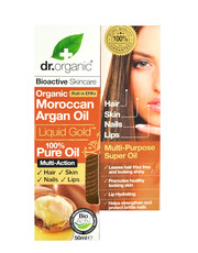 Organic Moroccan Argan Oil - 100% Pure Oil 50ml