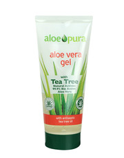Aloe Pura - Aloe Vera Gel with Tea Tree Oil 200ml