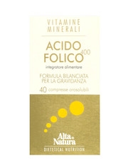 VitamineMinerali - Folic Acid 40 tablets