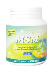 MSM in polvere 100 grams