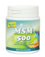 MSM 500 60 tablets