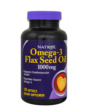Omega-3 Flax Seed Oil 120 softgels