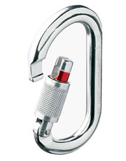 Carabiner OK screw-lock
