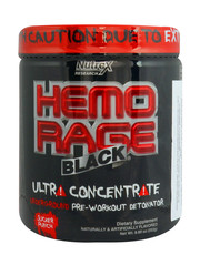 Hemo Rage Black Ultra Concentrate 252 grams