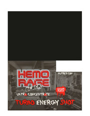 Hemo Rage Black Turbo Energy Shot 12 x 118,3ml
