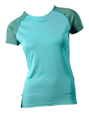 Flight T-Shirt W Colour: Malibu Blue