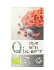Organic White & Goji Berry Tea 20 sachets of 1,6 grams