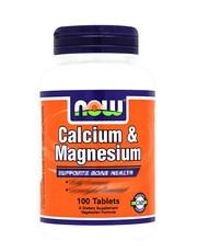 Calcium & Magnesium 100 tablets