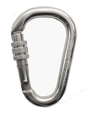 Carabiner H.M.S. Napik Screw Sleeve polished