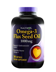 Omega-3 Flax Seed Oil 200 softgels