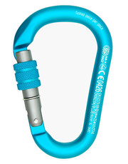 Carabiner H.M.S. Napik Screw Sleeve anodized
