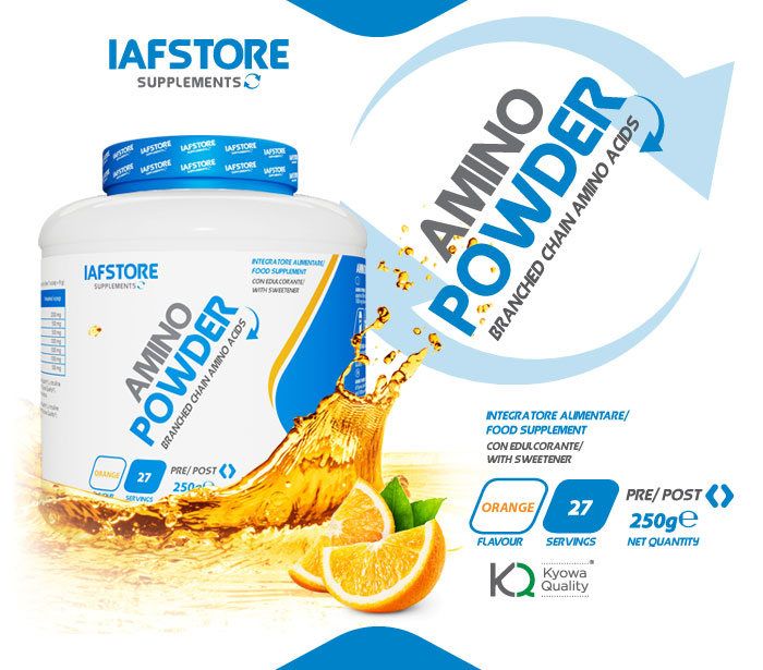 Iafstore Supplements - Amino Powder - IAFSTORE.COM