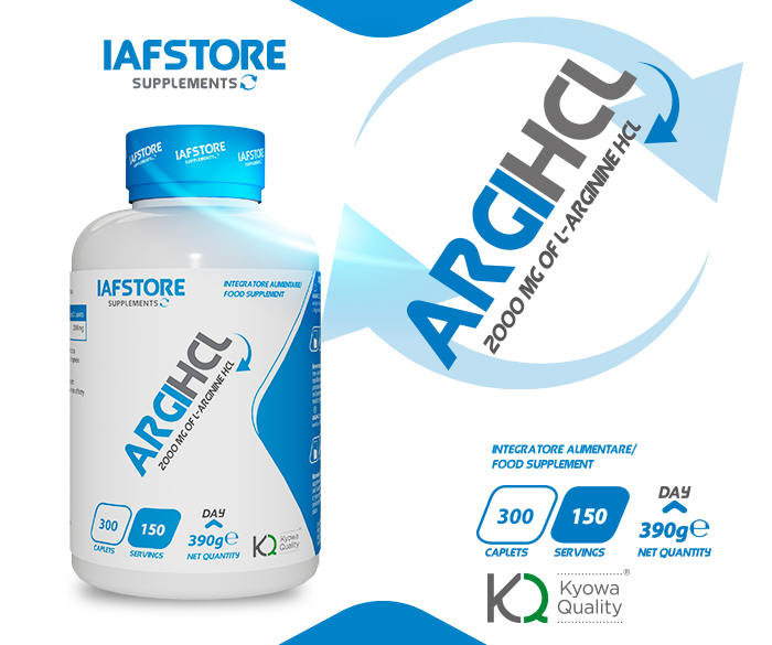 Iafstore Supplements - Argi HCL