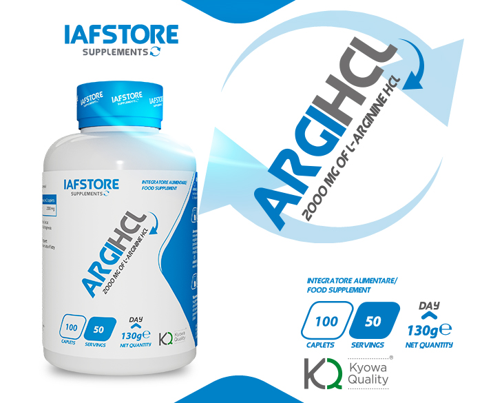 Iafstore Supplements - Argihcl Kyowa® Quality - IAFSTORE.COM
