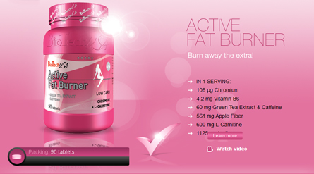 Active Fat Burner by BIOTECH USA (90 tablets) $ 15,44