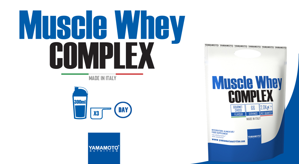 Yamamoto Nutrition - Muscle Whey Complex - IAFSTORE.COM