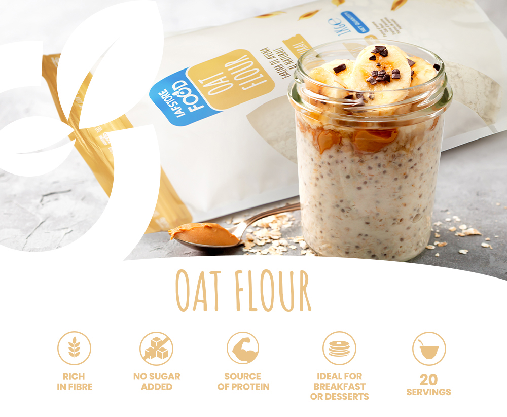 Iafstore Supplements - Oat Flour - IAFSTORE.COM