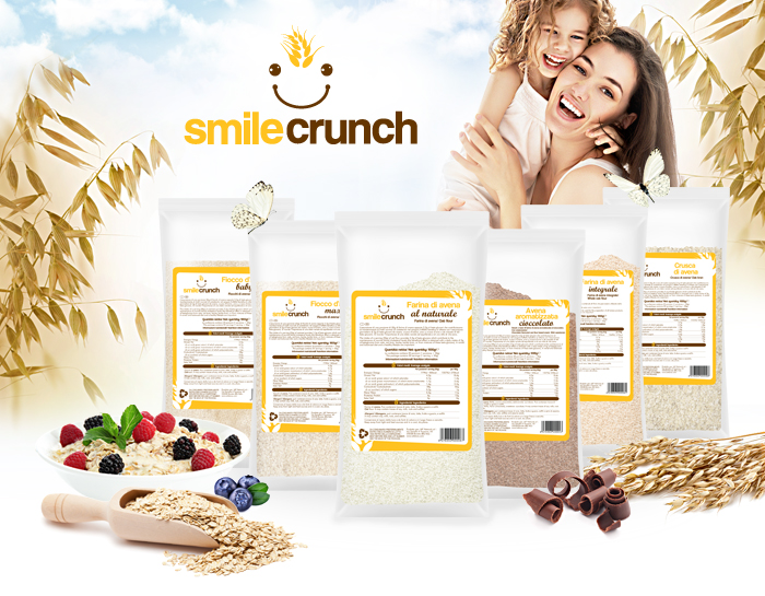 Smile Crunch - Oats Flavored Chocolate - IAFSTORE.COM